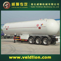 3 Axles Semi LPG Tanker 56