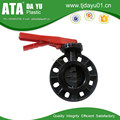 China OEM customized PVC manual butterfly valves with affordable price