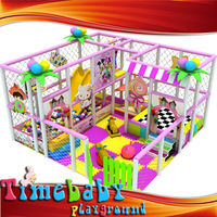 Garden Slide Wholesale Birthday Party Item Multifunction Entertainment Jungle Theme Kids Plastic Playground
