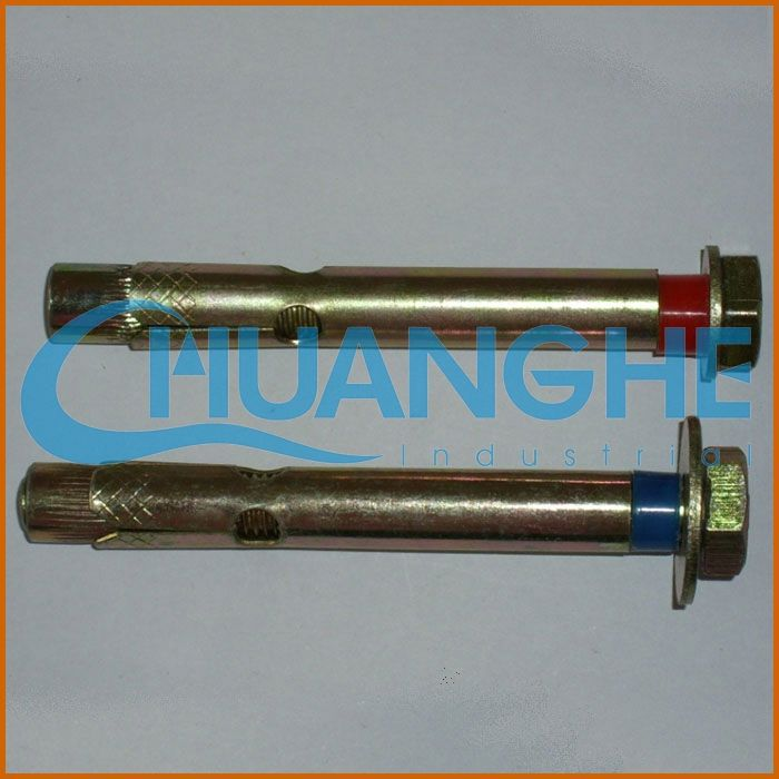 hardware fastener zinc alloy double/single expansion anchor/expansion bolt