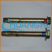 hardware fastener zinc alloy double/single expansion anchor/expansion bolt