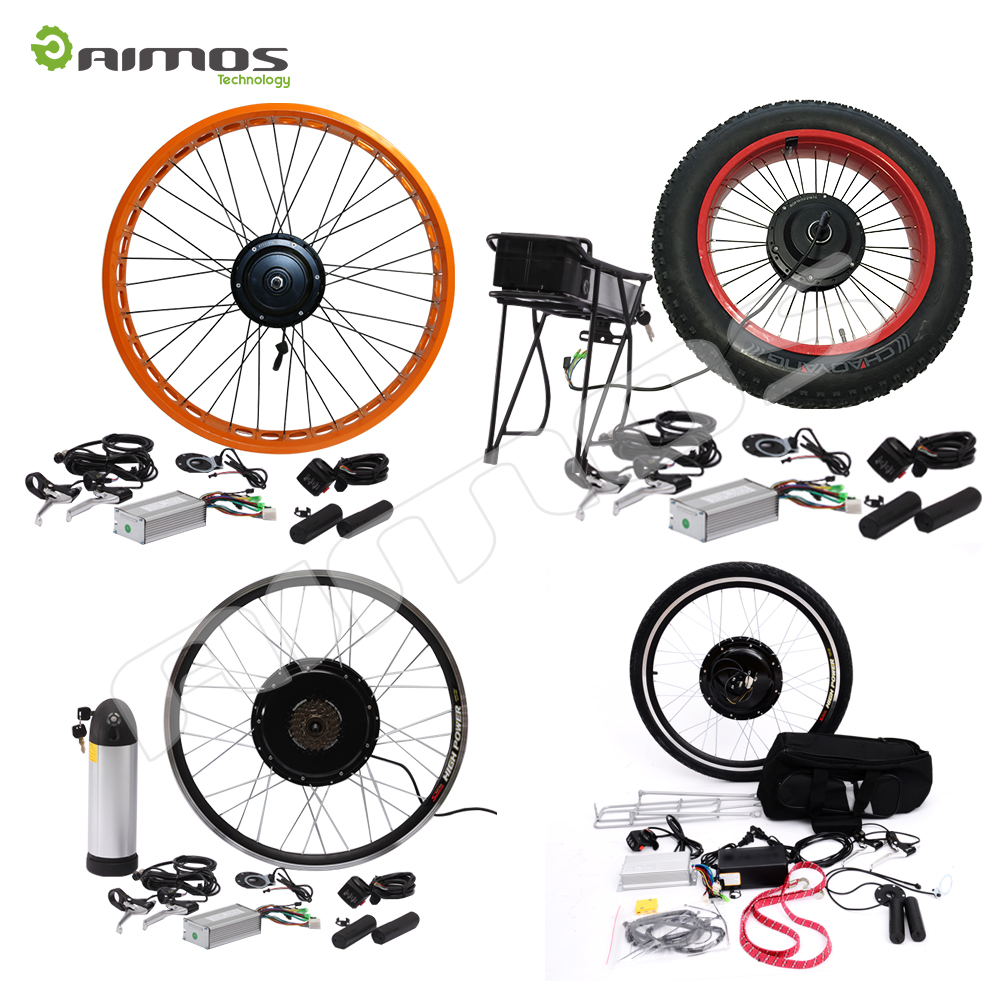 Hot sale 48v 20ah battery electric bike kit 3000w big power hub motor