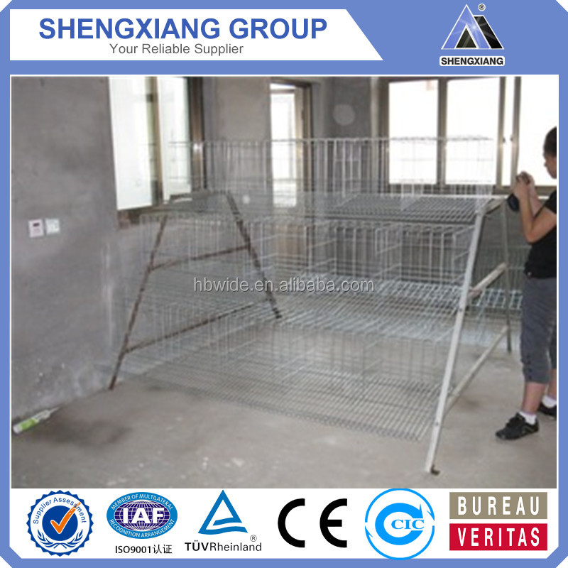 2017 Alibaba.com Hot Sale Strong and Durable Chicken Cage for Sale with High Quality