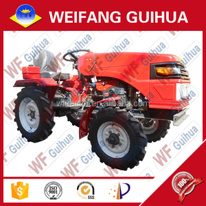 15 hp diesel engine electric start cheap mini farm tractor for sale