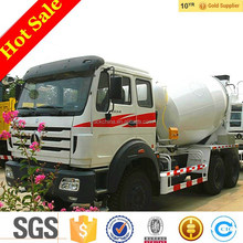 Beiben 8 cubic meters concrete pump mixer truck weight for sale