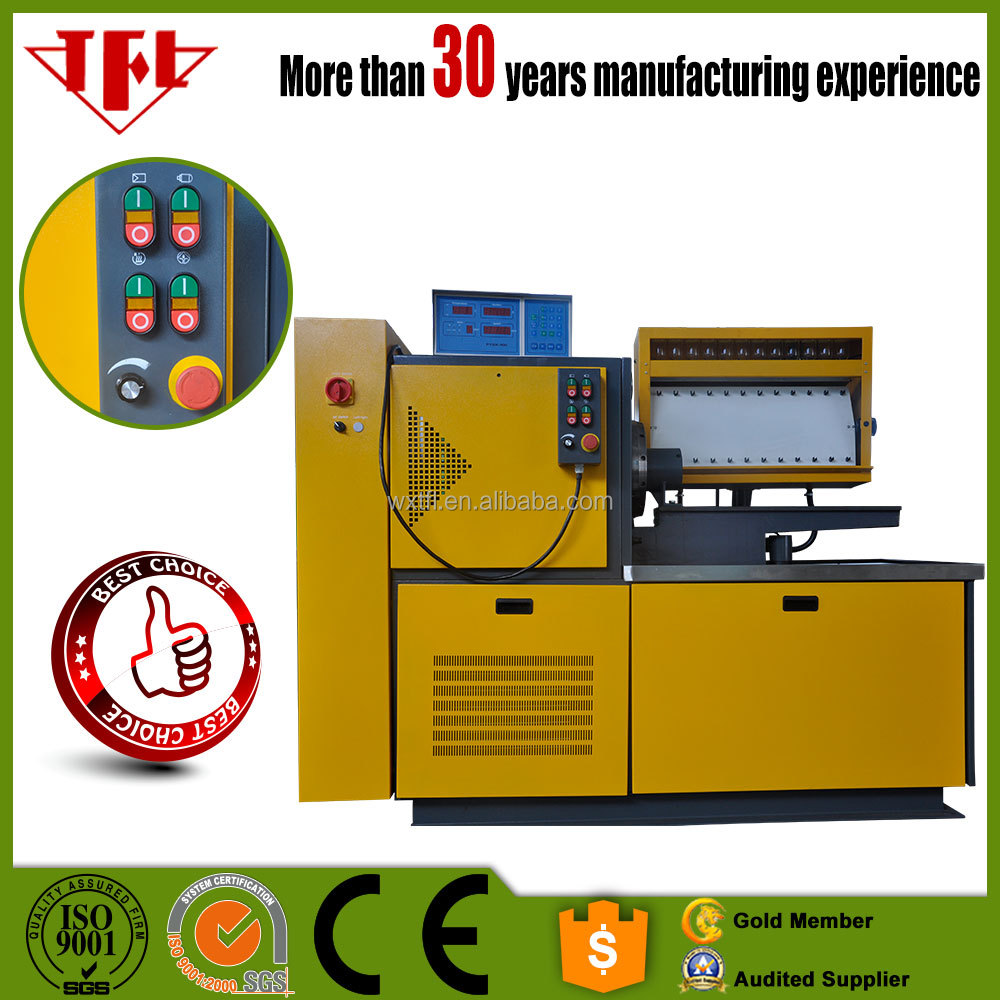 Diesel fuel pump injector test bench from professional diesel fuel pump test bench manufacturer