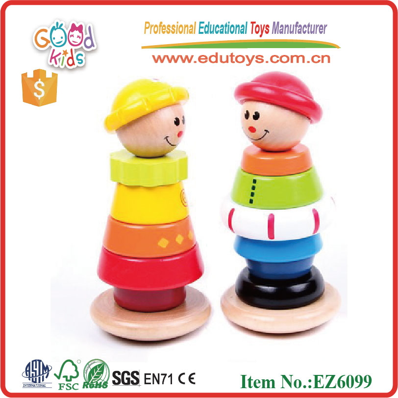 girls and boys tmubling tower baby wooden toys for kids