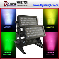 96pcs 10w bright led city color IP65 waterproof led wash light outdoor lighting