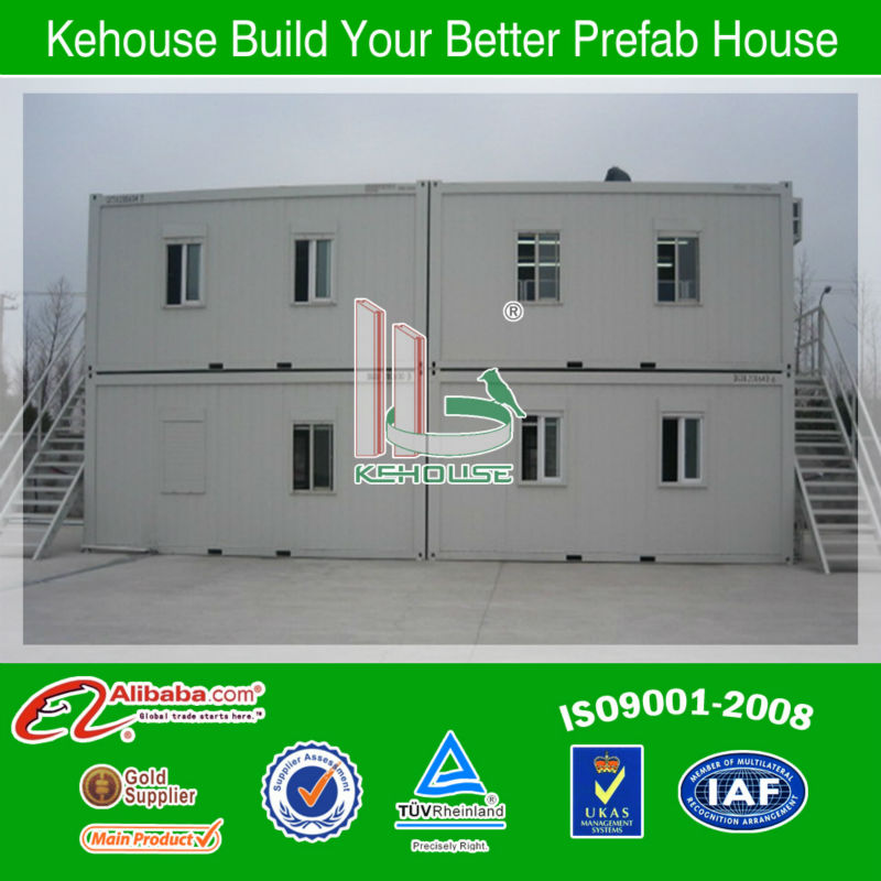 Luxury design prefabricated mobile office container house, accommodation container house