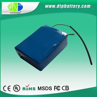 High capacity built-ion helicopter li-polymer battery 22.2v 5000mah