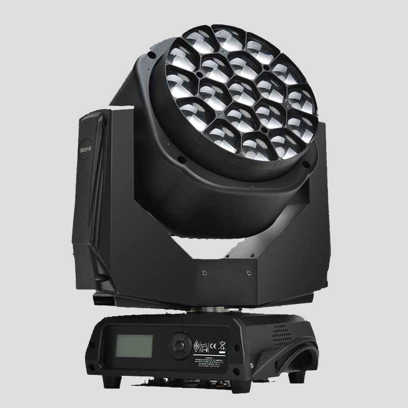 High Brightness 19*15w Led Big Bee Eye K10 Led Beam / Wash / Zoom Moving Head Light