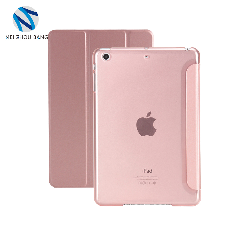New Arrival protective Tablet Cover Stand 3 Fold Case Belk Case For iPad Air