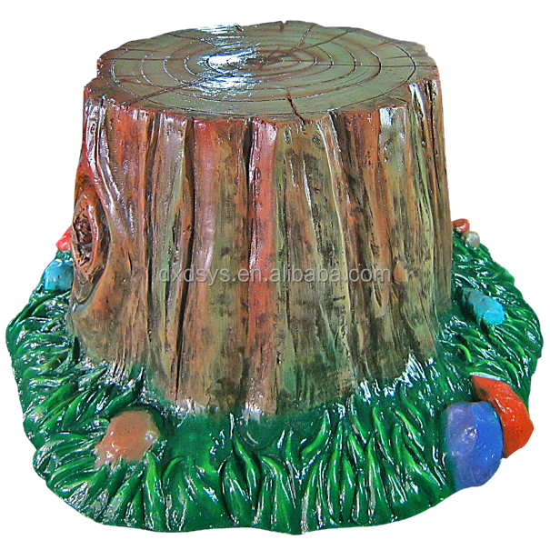Fiberglass Playground Tree Stump