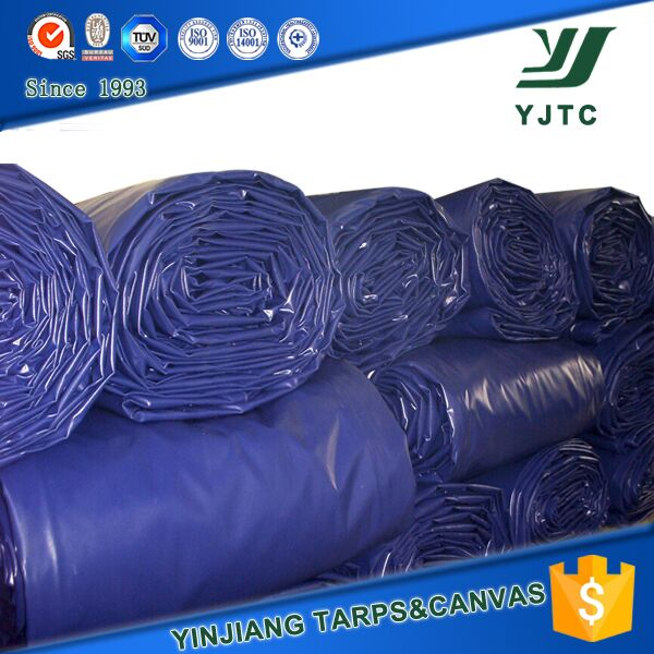 pvc tarpaulin fabric in stocklot