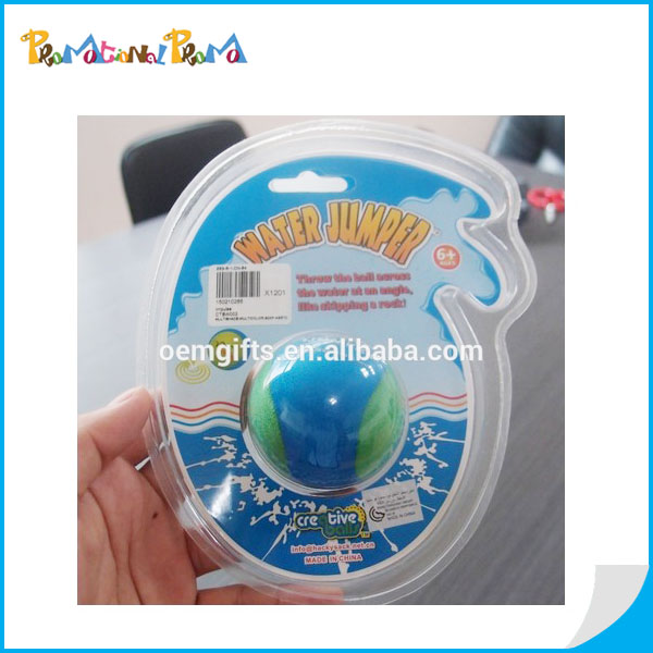 Promotional TPR Water Ball with Blister packaging for wholesale