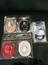 promotional baseball hat and cowboy hat car air freshener/freshner accessories