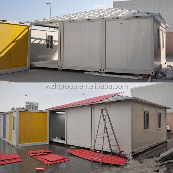 unit cabin, prefab portable cabin used container house, double cabin combined container