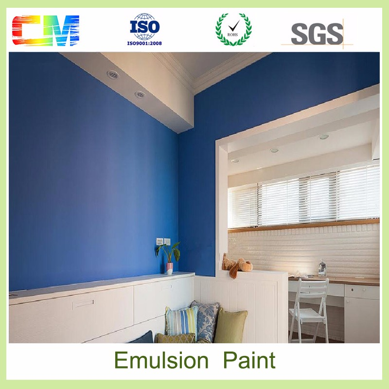 Waterproof interior wall paint water based liquid spray acrylic emulsion paints
