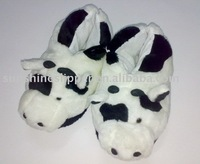 Funny Ladybug plush fuzzy Indoor Animal Slippers SH5024