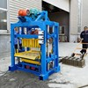 professional factory QTJ4-40 used concrete block making machine automatic, solid brick and hollow block making machine