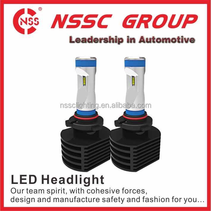 NSSC wide voltage factory price Biggest factory 8g led headlight 9006 5500lux for 3 meters 5S led motorcycle headlight