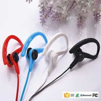 Best selling popular stylish wireless in-ear earhook , bluetooth headset with selfie function