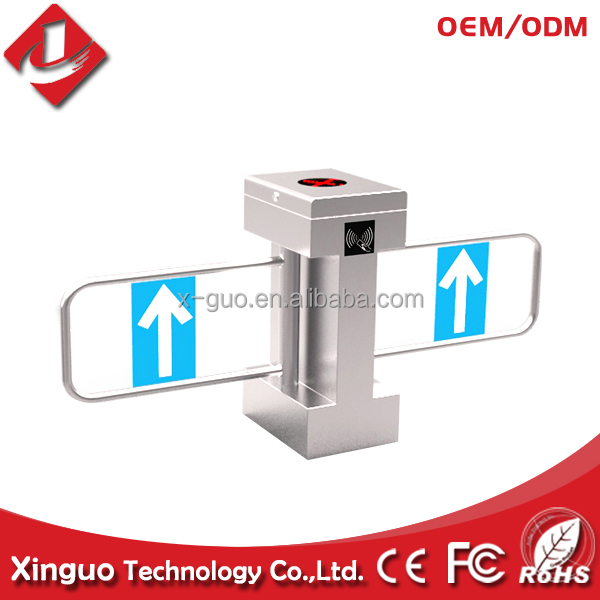 dual swing gate opener, rfid access control swing barrier