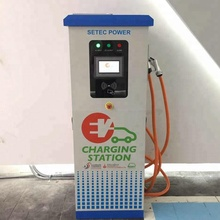 50kw Solar CCS CHAdeMO EV Plug Level 3 Mode 4 Electric Car Fast Charger of IEC Produced by SETEC Power of SET450-100Y