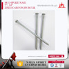 "7""-14"" M.G polish shank spike nail with high quality"