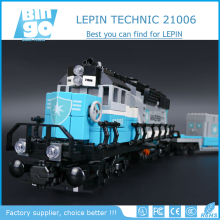 Bingo 21006 New 1234Pcs Maersk Train Set Building Blocks Bricks Lepin Toys