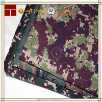 china military polyester cotton camouflage cloth for army