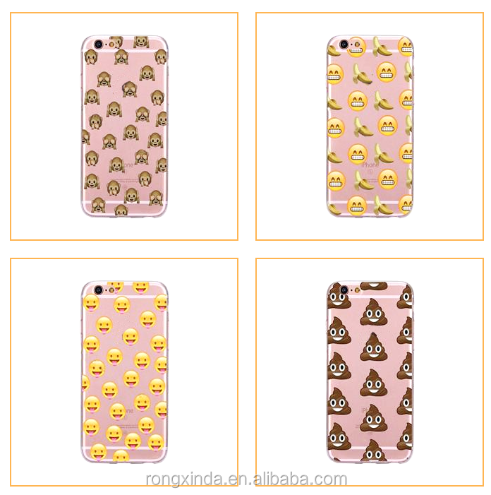 emoji tpu phone case Factory Hot Sale Phone case for iphone 66s Phone accessories