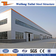 large span steel structure modular warehouse/plant/building