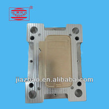 Copper mould for Sumsung S4 leather cover making