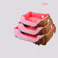 High quality low price princess butterfly knots cat bed luxury