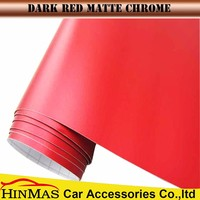 Teckwrap Brand Matte Metallic Chrome vinyl Car Body Side for car wrapping