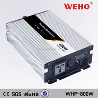 High efficiency 800w 24v to 110v pure pv solar panel inverter