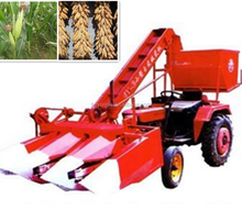 China top supplier two-row self-propelled corn harvester /automatic corn harvesting machine