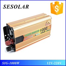 12v 220v 1000w 1kw dc to ac inverter solar power inverter made in china