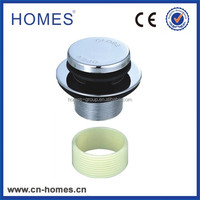click clack mechanism bath waste drainer 1-5/8 to G1-1/2 plastic screw ring