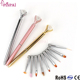 Pinpai Brand 2017 manicure set wholesale high quality manicure painting brush metal handle 10pcs/set nail art painting pen