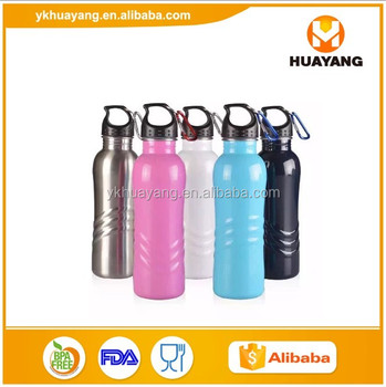 2016 hot sell stainless steel water bottle 500ml with newly shape design wholesale (HY-D024)