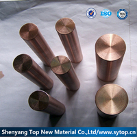 High heat resistance copper tungsten bar or copper rod