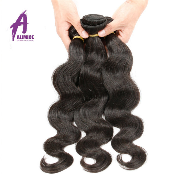Eurasian Unprocessed Raw Double hair weft Raw human hair, Unprocessed Raw Body wave Virgin Human hair extension