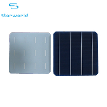 4BB monocrystalline solar cell High efficiency 21% eff 156mm*156mm solar cell for wholesale