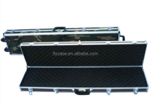 2012 rifle carry case , gun case,with sponge inner and aluminum frame and panel, handle