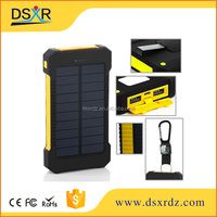 high quality 8000mAh Active Waterproof Solar Portable Power Bank Charger