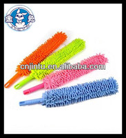 high quality colorful cleaning special designed chenille car brush