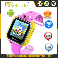 Newest Smart watch Kids Wristwatch 3G GPRS GPS Locator Tracker Smart watch kids Watch With Camera For Smartphone