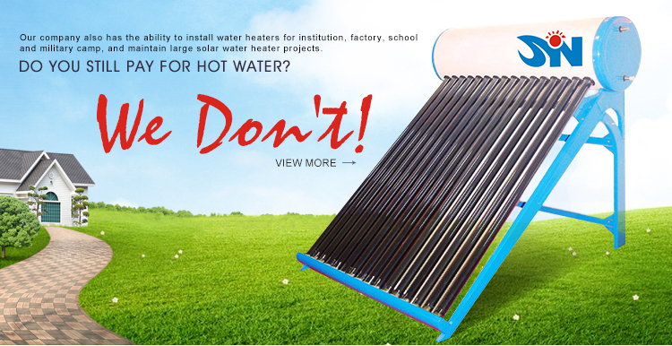 Sell Well New Type Compact Pressurized 120L Flat Plate Solar Water Heater